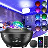 Galaxy Projector, 3 in 1 Smart Star Projector Sky Lite with Alexa,Google Assistant for Baby Kids Bedroom/Game Rooms/Home Theatre/Night Light Ambiance with Bluetooth Music Speaker
