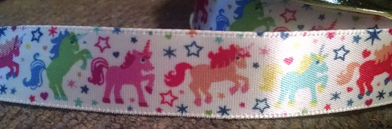 Country Croppers Unicorn Magic Ponies Satin Ribbon - 4 Yards 5/8In Wide