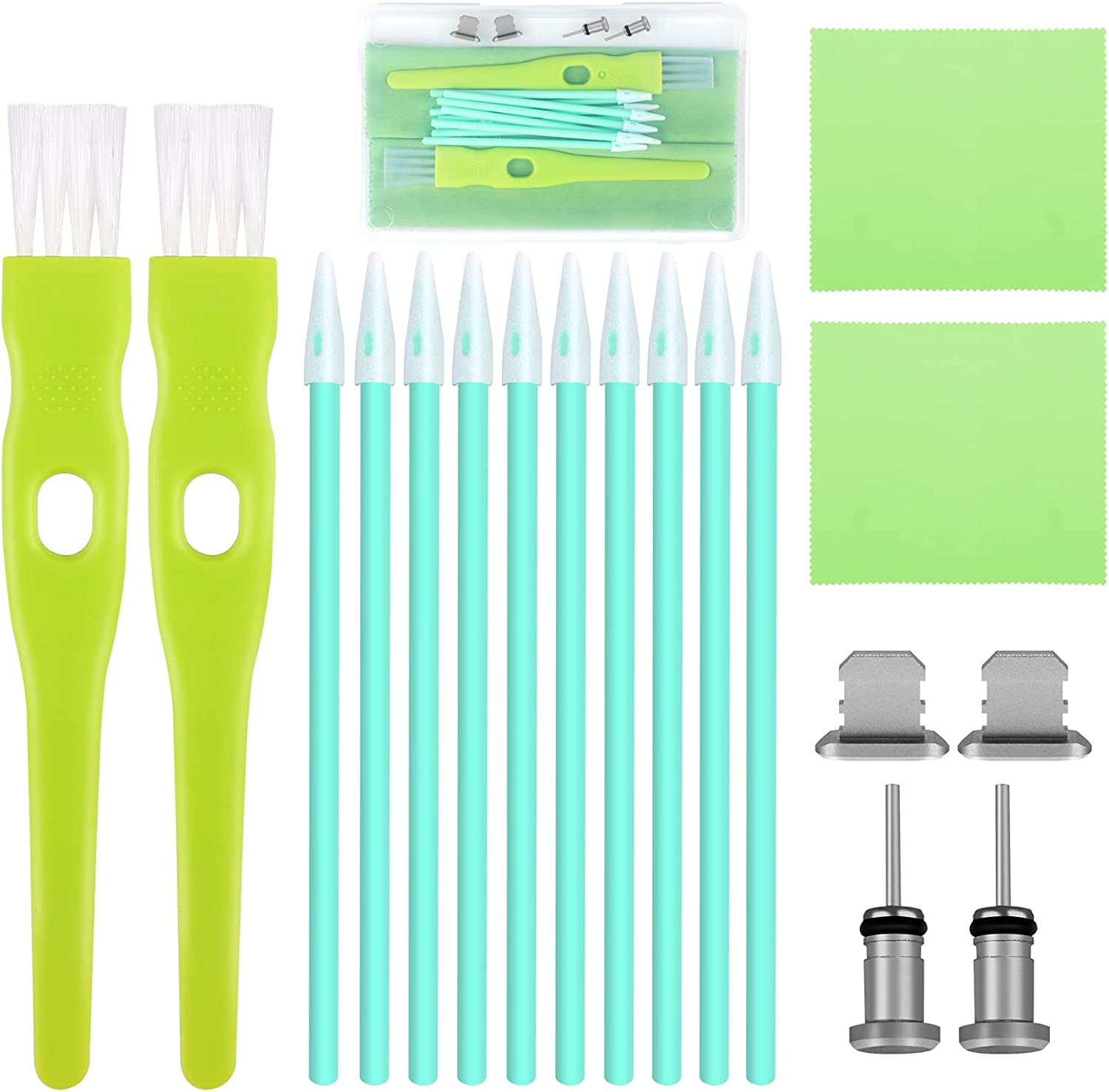 ADXCO 19 Pieces Cell Phone Cleaning Kit Set Charging USB Super beauty product restock quality top! P Ranking TOP8 Brush