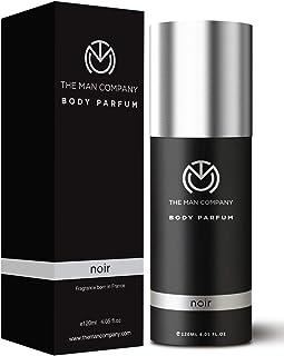 The Man Company Body Perfume For Men - Noir   No Gas Deodorant   Body Spray For Men   Long Lasting Fragrance -120ml