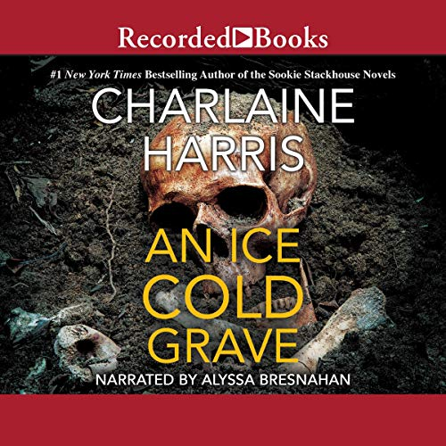 An Ice Cold Grave audiobook cover art