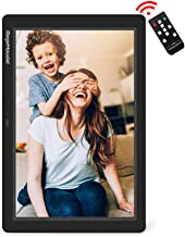 Digital Picture Frame, RegeMoudal 12 Inch Digital Photo Frame with Wireless Remote Control, Support SD Card/USB