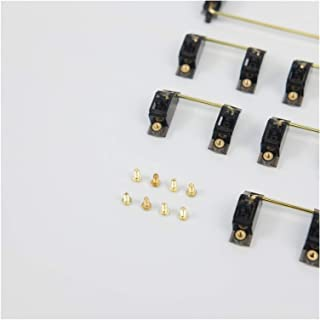 Mekanisk P-C-B Stabilisator Transparent Guldpläteringsskruv Stabilisator G-H-60 X-D60 Stabilisator Mekanisk Tangentbord Cu...