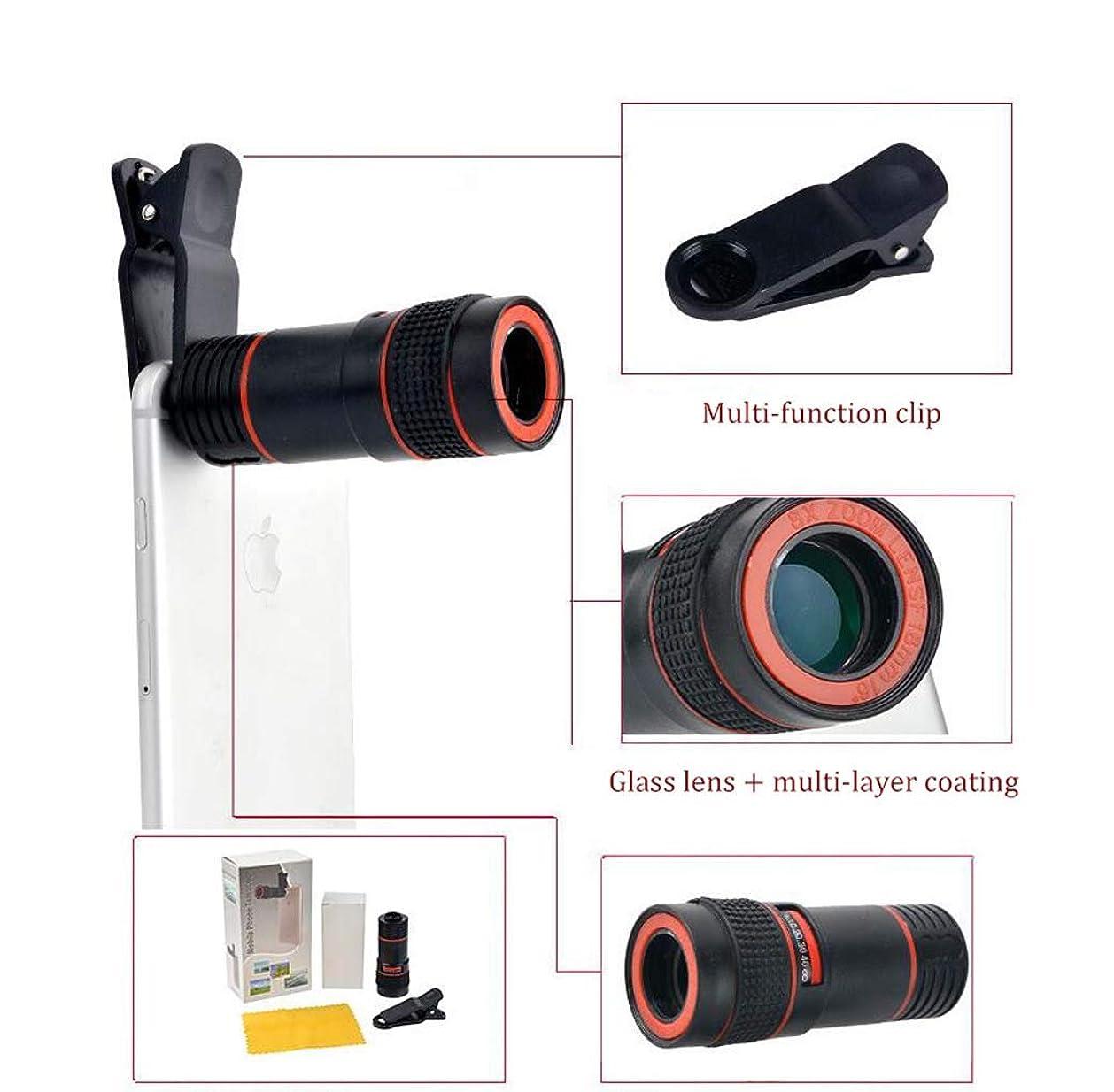 発音する回転させる下るミニ8×18単眼望遠鏡、高解像度ビデオ録画用、大人と子供のための適切な屋外旅行天文学バードウォッチング