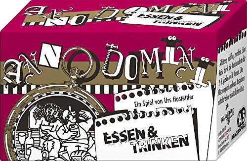 ABACUSSPIELE 09162 - Anno Domini - Essen & Trinken, Quizspiel, Schätzspiel, Kartenspiel