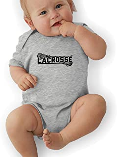 Lacrosse Baby Outfits Coveralls Bodysuit Jumpsuit Short Sleeved Onesies