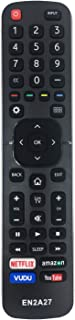 MYHGRC New Replacement Hisense Remote Control EN2A27 for Hisense LCD LED HD Smart TV, No Setup Needed Hisense TV Remote, with Netflix, Vudu, Amazon and YouTube Buttons