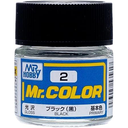 GSIクレオス Mr.カラー ブラック (黒) 光沢 10ml 模型用塗料 C2