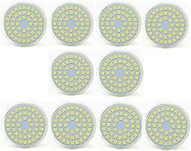 SGJFZD LED MR16 Light Bulbs 5W, 24V 50W Halogen Replacement, GU5.3 Bi-Pin Base (10PCS) (Color : Cool White)