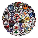 Popular Movie Stickers for Star War to Girls Adults Teens Boys|100 Pcs|Waterproof Vinyl Stickers for Laptop Car Luggage Phone Tablet Water Bottle Hydroflasks Bike,Funny Decals Pack(Star War-100Pcs)