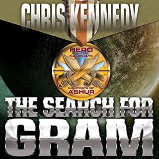 The Search for Gram audiobook cover art