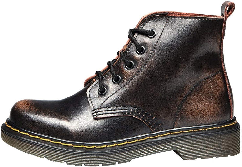 Fuxitoggo Männer Und Frauen Winter Warm Martin Stiefel Stiefel Stiefel (Farbe   16, Größe   35EU)  1abf4e