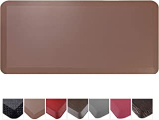 Cook N Home 02673 Anti-Fatigue Comfort Mat, Faux Leather, 39