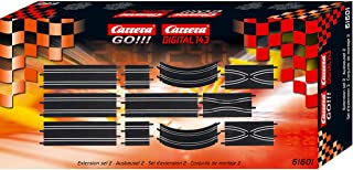 Carrera GO!!! Extension Set #2 - 11 Piece Track Expansion Accessory Pack - for Use with 1:43 Scale GO!!! and Digital143 Sl...