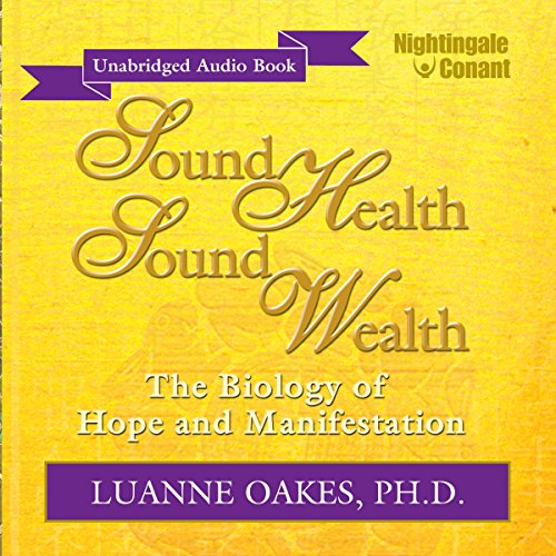 Sound Health, Sound Wealth audiobook cover art