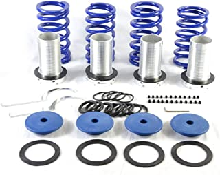 Adjustable Coilover Coil Springs Lowering Suspenion Kit fit for 1990-2006 Honda Accord & 1992-2001 Honda Prelude
