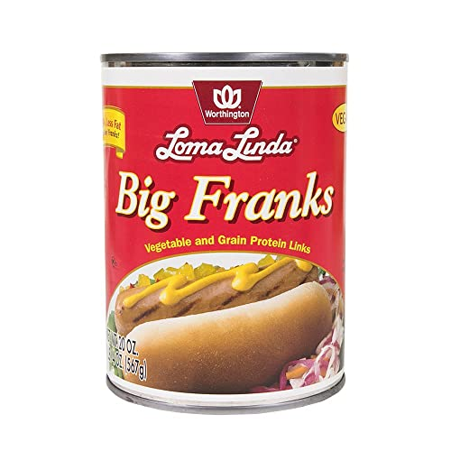 Loma Linda - Plant-Based - Big Franks (20 oz.) – Kosher