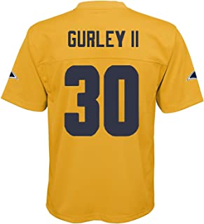 Outerstuff Todd Gurley II Los Angeles Rams NFL Youth 8-20 Yellow Gold Color Rush Mid-Tier Jersey