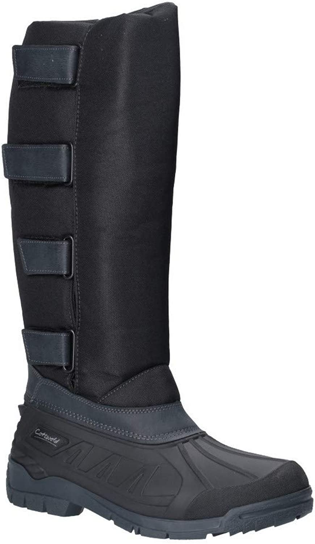 Cotswold Womens Kemble Short Wellington Boot Black Size UK 4 EU 37