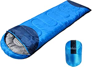 Shopper52 Waterproof Sleeping Bag Outdoor Camping Hiking Travel Single Thick Carry Bed Camping Bag Travel Sleeping Bag Por...