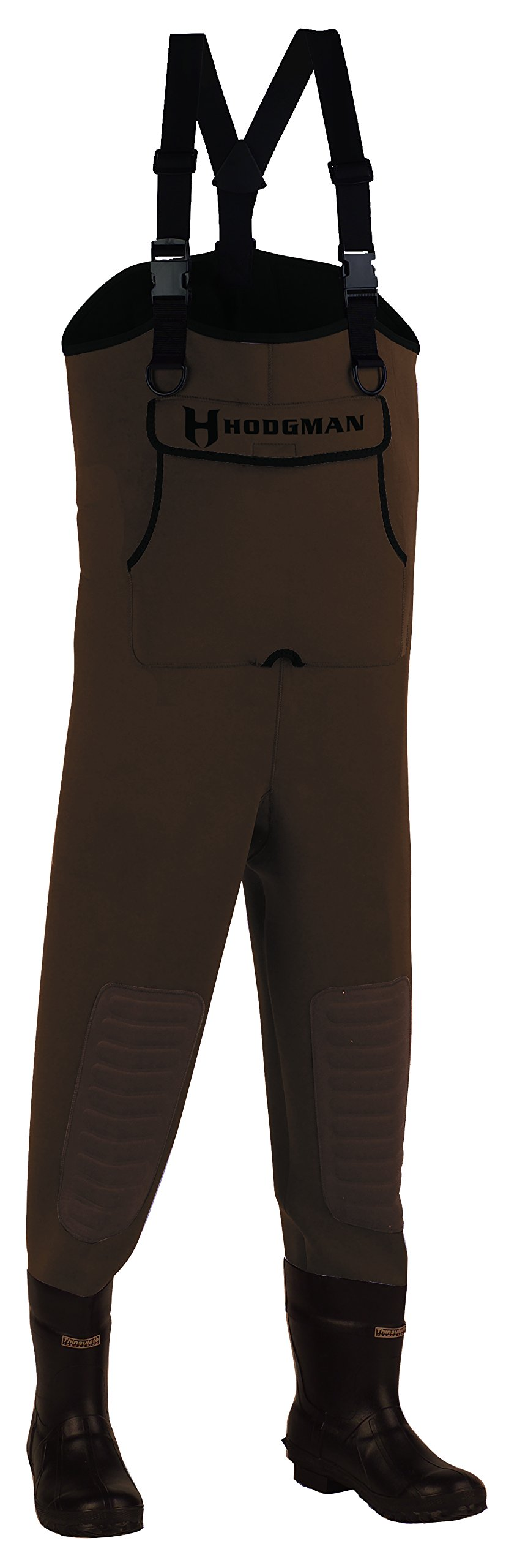 Superatv Gray Airman Waders//Riding Costume avec Bottes en caoutchouc-Taille 7 Small