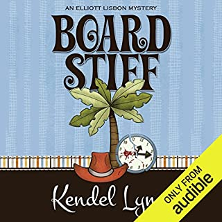 Board Stiff audiobook cover art
