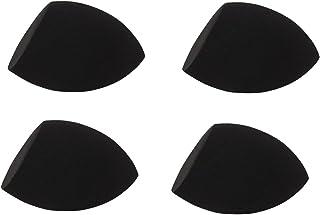 JPNK Latex Free Makeup Blender Sponges(Pack of 4, Black)