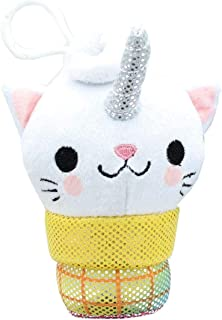 Underground Toys Kitty Cone Clip Uma The Unicorn 5 inch Plush Backpack Clip