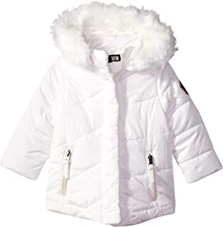 Steve Madden Baby Girls Nylon Bubble Jacket