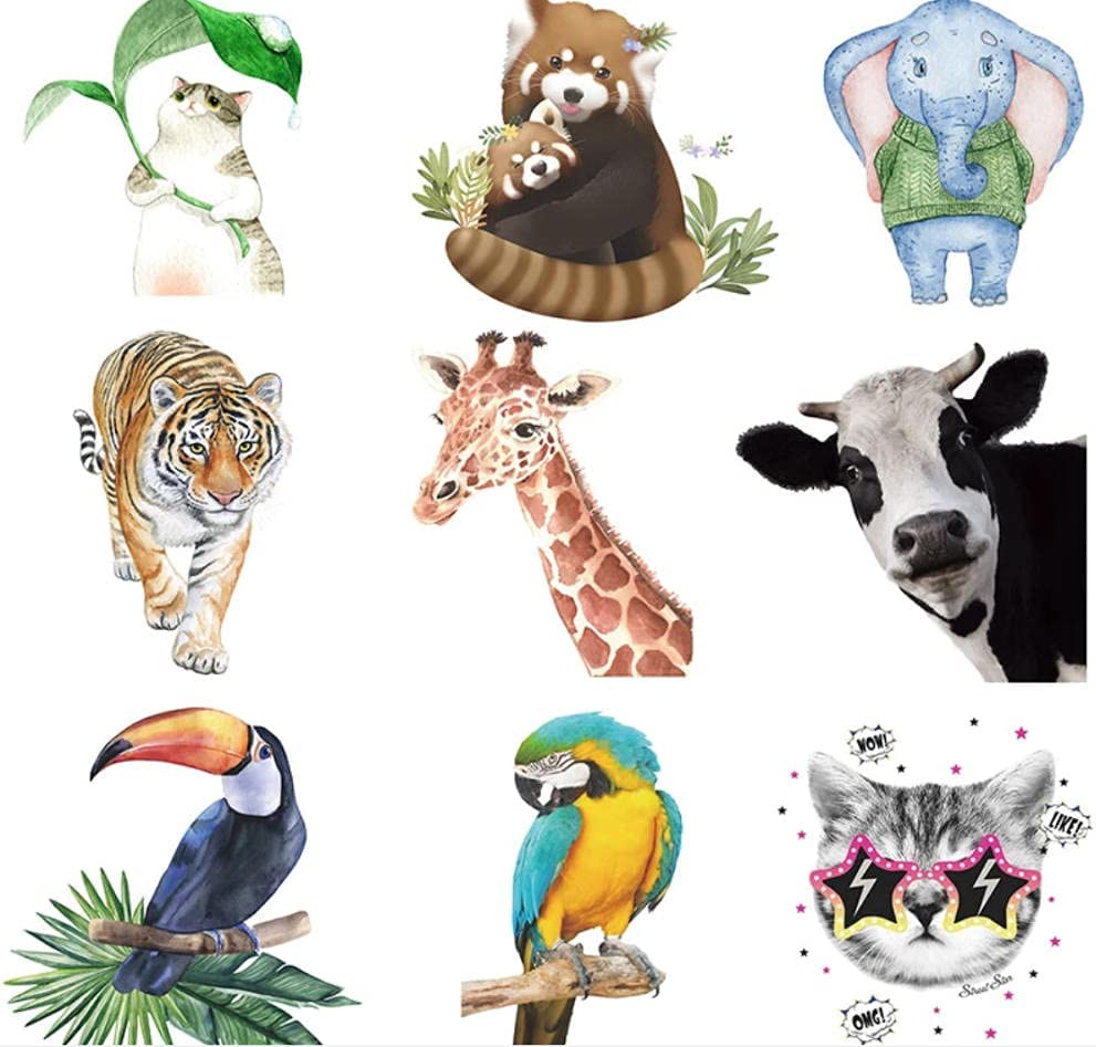 AAHPH Cartoon New color Animals New product type Wall Stickers for Kids Decorations Room Gi