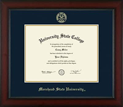 Morehead State University Officially Licensed Gold Embossed Diploma Frame Diploma Size 11 X 8 5