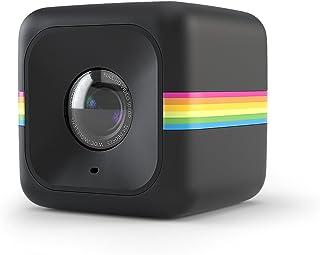 Polaroid Cube+ 1440p Mini Lifestyle Action Camera with Wi-Fi & Image Stabilization (Black) [並行輸入品]