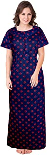 Trendy Fab Women's Cotton Nighty/Nightwear/Night Dress/Sleepwear/Gown