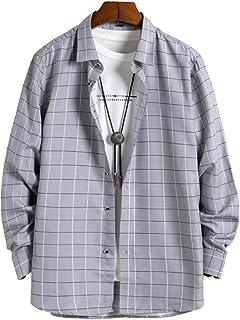 [クーパーアンドコー] 14カラー M~3XL ストライプシャツ 長袖 シャツ キレイめ シャツジャケット 羽織 メンズ