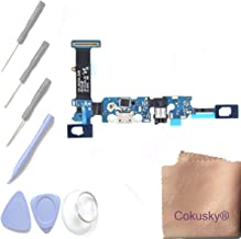 Cokusky Charging Port Flex Cable Dock Connector USB Port with Mic Microphone Repair for Samsung Galaxy Note 5 +Tools (N920A AT&T)