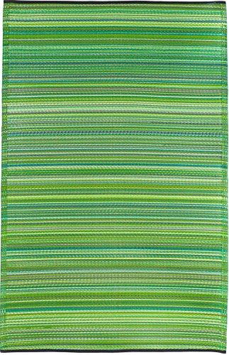 Fab Habitat Cancún - Alfombra, 120 x 180 cm, Color Verde