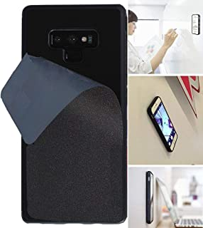 Goat Case for Galaxy Note 9 with Dust Proof Film, Magic Nano Hands Free Stick to Wall Anti-Gravity Case Black Anti Gravity Case for Galaxy Note 9