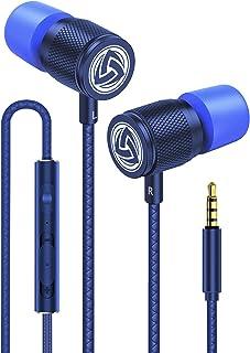 LUDOS Ultra Auriculares con Micrófono y Cable, Máxima Comodidad, Sonido Cristalino, Agudos y Graves Equilibrados, Nueva Es...