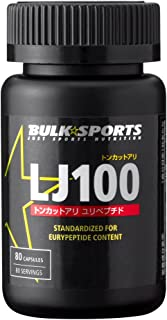バルクスポーツ LJ100 80カプセル(80食分)【トンカットアリエキス 国内製造】