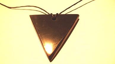 Annonce. schungit Pendentif, symbole femme, env. 4x 0,6cm jusqu'à 11g. Avec certificat.