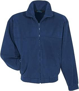 Mens Polyester Anti-Pill Full Zip Panda Fleece Tundra Jacket (10 Color, XS-6XLT)