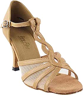 Women's Ballroom Dance Shoes Tango Wedding Salsa Shoes 1692EB Comfortable-Very Fine 2.5