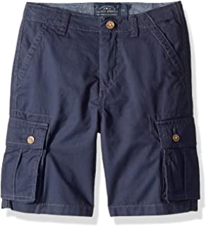Boys' Solid Cargo Shorts