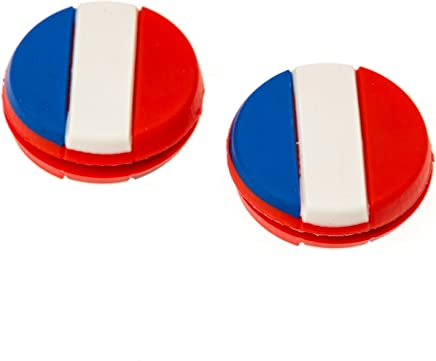 TennisGeek National Flag Tennis Dampener (3 Pack)
