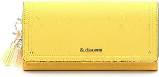 【セット品】& chouette &シュエット サピアノ2つ折り かぶせ長財布 レディース サイフ さいふ サマンサ (長財布、チャーム)