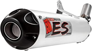 Big Gun Exhaust 07-1222 Eco Slip-On Exhaust System (Color: Brushed, Material: Aluminum)