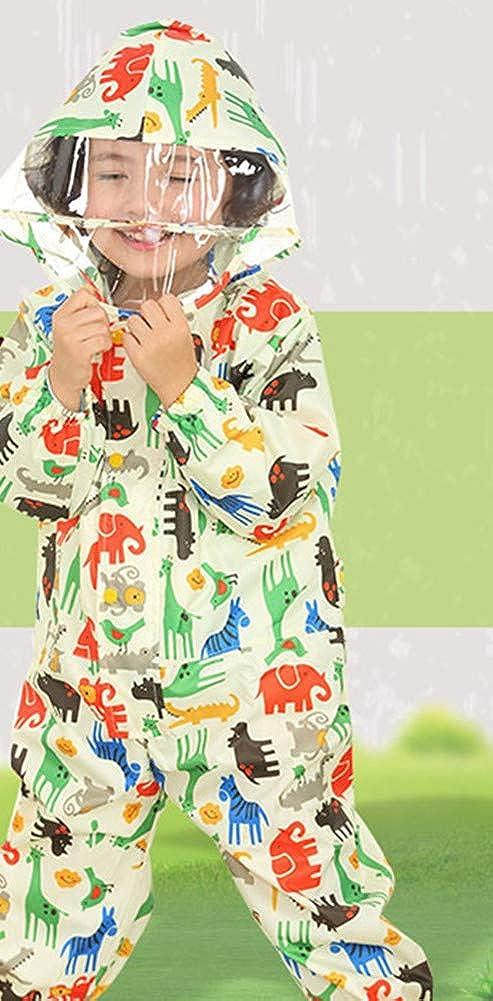 Baby Rainsuit Baby Girls Baby Boys Infant Outdoors Rain Suit Toddler Kids Rain Coverall Rain Pants1-12 T