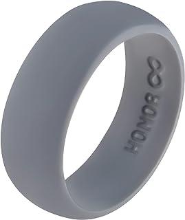 خاتم زفاف Honor Eternity من السيليكون للرجال (سبيس جراي، 6)