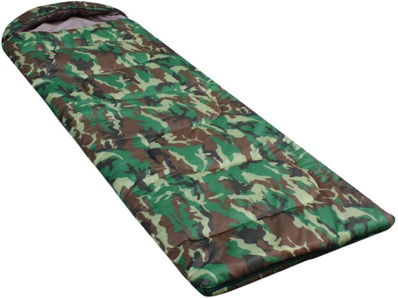 Olprkgdg Envelope Adult Schlafsack für Wandern, Reisen, Camping (Farbe   Camouflage) B07L3FX6GG  Ausgezeichnete Leistung