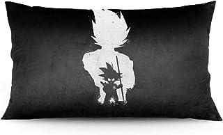枕套 龙珠超 (7) 91*50厘米 涤纶100% 拉链式 吸汗 速干 抗螨 抗菌除臭 透气性出众 轻量 防静电 可整体清洗 家庭装饰枕套